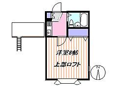 ロイヤルス茅ヶ崎[1階]の間取り