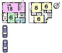 全居室6帖以上、収納スペースも豊富に設置したゆとりある間取りです。お気軽にお問合せ下さい。
