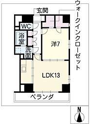 ランドハウス泉[12階]の間取り
