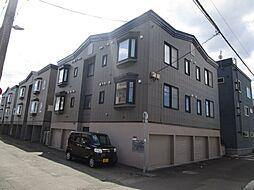北海道札幌市東区北四十三条東1丁目の賃貸アパートの外観