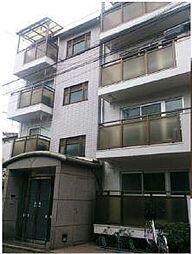 東京都台東区谷中4丁目の賃貸マンションの外観