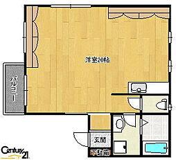 ベルエポックHNH-B[2階]の間取り