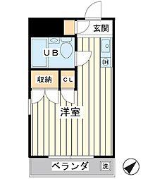 スタジオ7[2階]の間取り