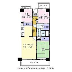 たぶの木の家[1階]の間取り