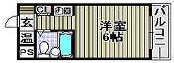 インペリアル関西エアポート A棟[5階]の間取り