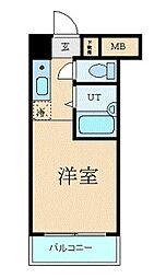 東京都世田谷区池尻4丁目の賃貸マンションの間取り