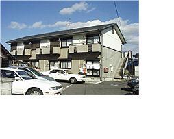 滋賀県甲賀市水口町鹿深の賃貸アパートの外観