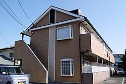 福岡県飯塚市横田の賃貸アパートの外観