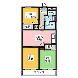 ソーシャルOmori[2階]の間取り