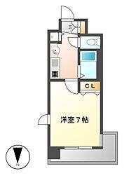 プレサンス桜通アベニュー[3階]の間取り