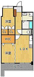 デザイナー・プリンセス・KY[7階]の間取り