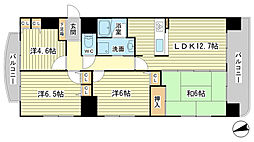 リベール姫路駅南I[9階]の間取り