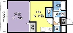 フジパレス倉治[1階]の間取り
