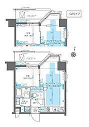 ZOOM神宮前[8階]の間取り