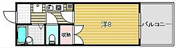 穂積マンション[6階]の間取り