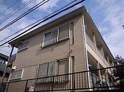 松葉スカイコーポ[1階]の外観
