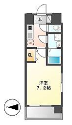 UURコート名古屋名駅[11階]の間取り