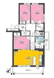 志木ニュータウン中央の森弐番街四号棟 中古マンション