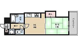 ファミールハイツ北大阪5号棟弐番館[4階]の間取り