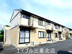 三重県四日市市下之宮町の賃貸アパートの外観