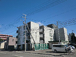 北海道札幌市東区北十条東2丁目の賃貸マンションの外観