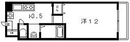 フロム東大阪[702号室号室]の間取り