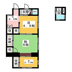 [一戸建] 宮城県仙台市青葉区広瀬町 の賃貸【/】の間取り