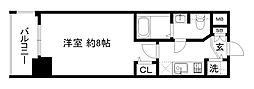 アクアプレイス京都洛南[4階]の間取り