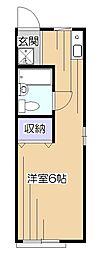 ライフピア萩山[1階]の間取り