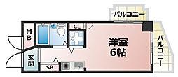 兵庫県神戸市灘区岩屋中町2丁目の賃貸マンションの間取り