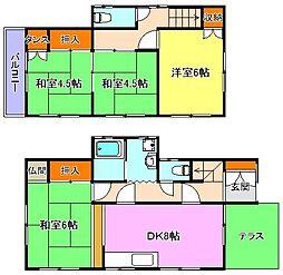 [一戸建] 兵庫県神戸市西区持子3丁目 の賃貸【/】の間取り