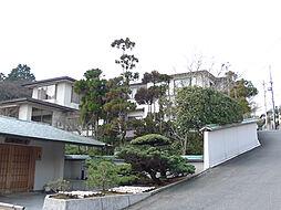 京都府京都市右京区鳴滝音戸山町の賃貸マンションの外観