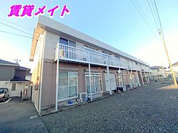 三重県四日市市別名6丁目の賃貸アパートの外観