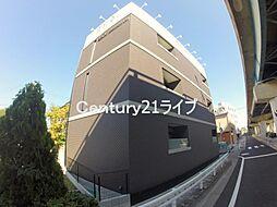兵庫県宝塚市向月町の賃貸アパートの外観