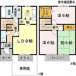 [タウンハウス] 兵庫県神戸市西区上新地1丁目 の賃貸【/】の間取り