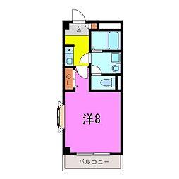 東浦町 ルミナス緒川II[2階]の間取り