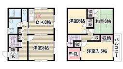 [一戸建] 愛知県名古屋市名東区大針2丁目 の賃貸【/】の間取り
