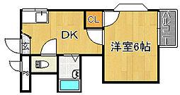 富士林II番館[2階]の間取り