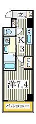 レガーロカシワ[2階]の間取り