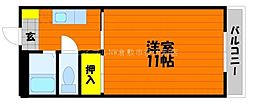 岡山県倉敷市水島北春日町丁目なしの賃貸マンションの間取り