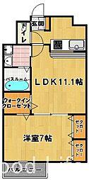 フローレス マンション[2階]の間取り