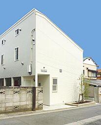 神奈川県横浜市磯子区東町の賃貸アパートの外観