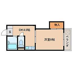 静岡県静岡市葵区沓谷3丁目の賃貸マンションの間取り