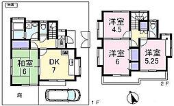 [一戸建] 東京都練馬区大泉町4丁目 の賃貸【/】の間取り
