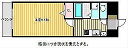 愛知県名古屋市千種区新池町4丁目の賃貸マンションの間取り