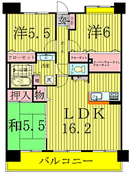 INSURANCE BLDG.8[5階]の間取り