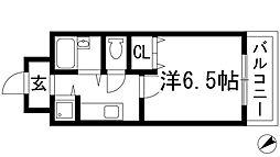ラセデュクシオン[2階]の間取り