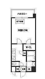スプランディッド新大阪DUE[4階]の間取り