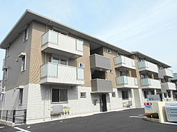京都府京都市山科区音羽前出町の賃貸アパートの外観