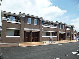 東京都武蔵村山市残堀1丁目の賃貸アパートの外観